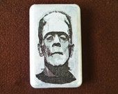 Frankenstein Monster iPod Classic Hard Cover Shell Case 80120160 GB 6th 7th generation  iPod Touch 5 Hard Case Shell Skin Cover