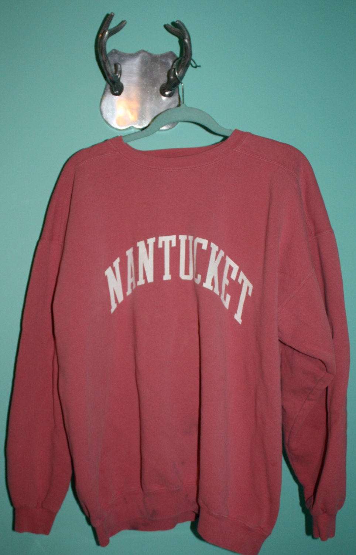 Retro Crew Neck Nantucket Sweatshirt