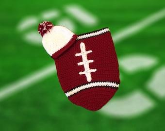 Arizona Fan Favorite Baby Boy Football Cocoon & Hat (Newborn to 3 Months)