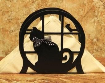 Cat Napkin Holder - Cat Letter Holder