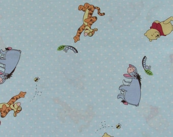 Per Yard, Pooh Caterpillar and Bees Fabric From Springs Creative