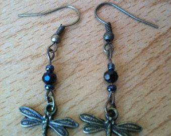 Little firefly earrings