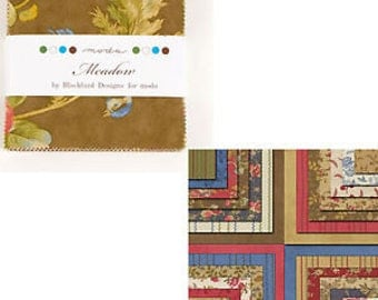 Meadow Charm Pack by Blackbird Design for Moda