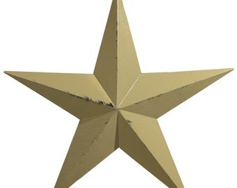 "Amish Made 40"" Heavy Gauge Metal Barn Star"