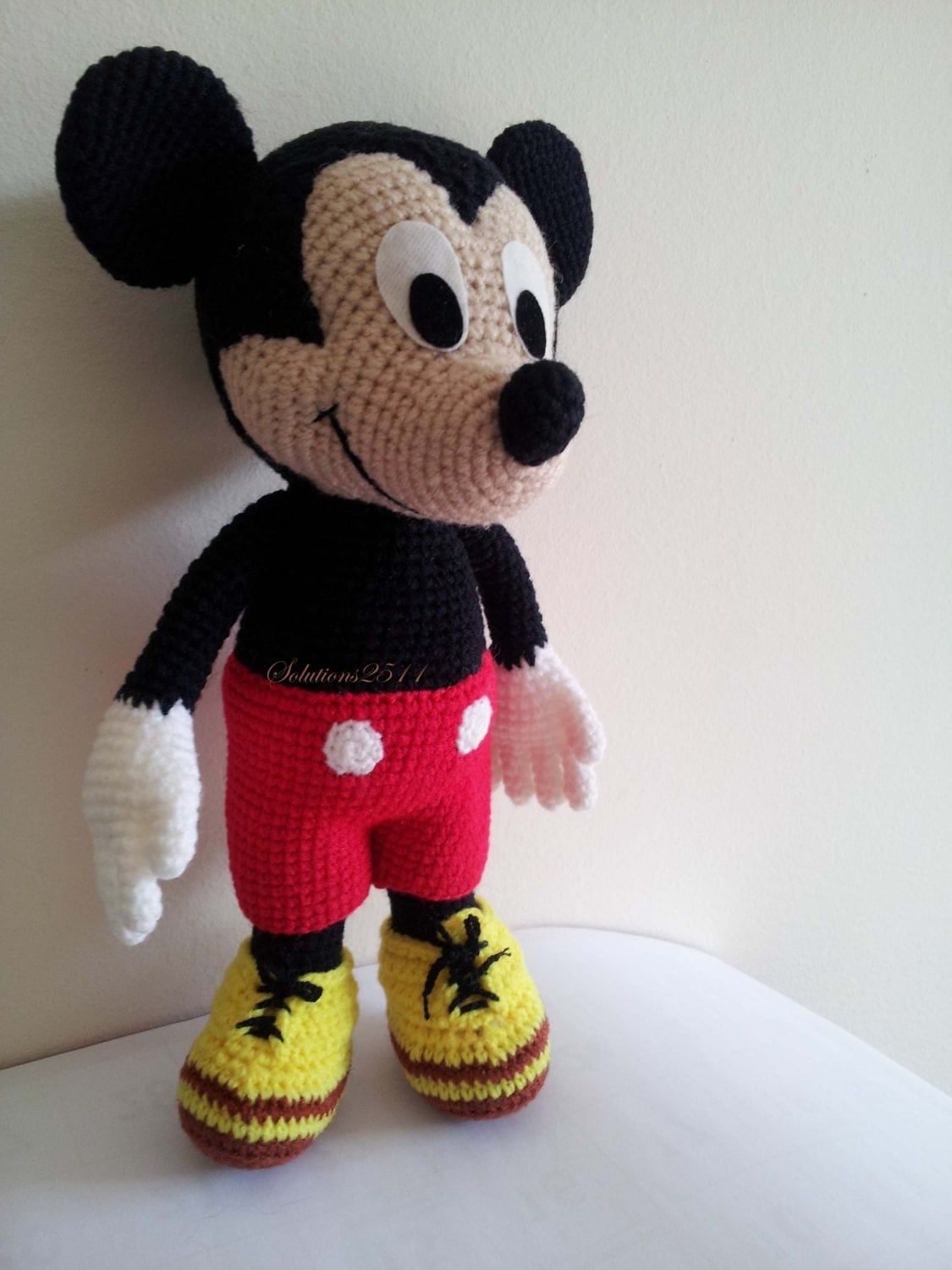 Magnificent Mickey Mouse Crochet Pattern Ornament - Easy Scarf ...