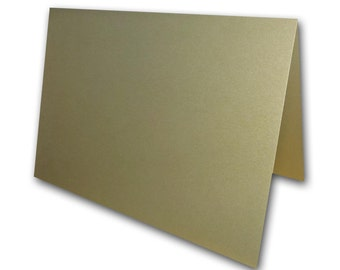 Metallic Gold Leaf Place Cards 25 pack