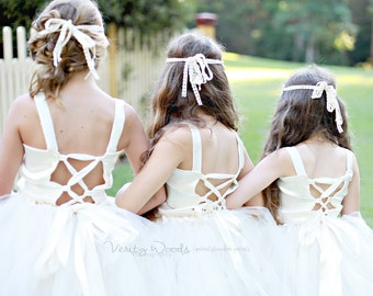 Flower Girl Gown || Ties & Knots