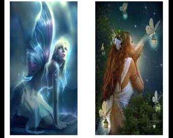 Fairy - Fairy Prints - Digital Download Sheet - Digital Collage Sheet - Faires - Scrapbooking - Dominoe Prints - Dominoes - Jewelry - DDP268