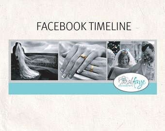 FACEBOOK banner blue Facebook timeline psd template - fully editable
