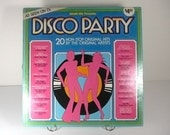 Vintage 1970s Disco Party Stereo Record - As Seen on TV, iconic mail order album, great condition