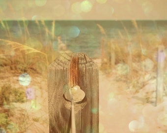 Bokeh, Beach Photography, Landscape, Ocean photography, Coastal Wall Art, Nautical, dreamy, nature