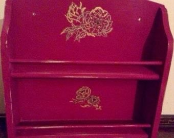 Items Similar To Vintage Painted Lloyd Loom Chair On Etsy