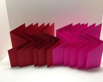 Unfinish Trifold Card Base
