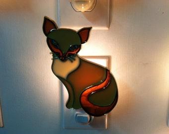Cat night light with  4 watt  on/off switch
