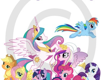 Instant Download - My Little Pony Printable