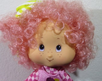1991 Strawberry Shortcake Raspberry Tart 'Rock n' Berry Roll' dolls by Toy Headquarters THQ - Price Reduced
