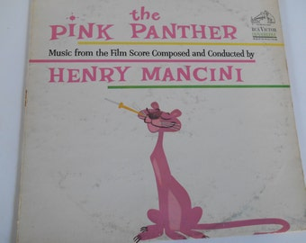 The Pink Panther- Henry Mancini- Vinyl record