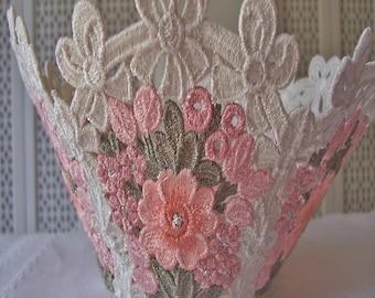 Floral Lace Bowl