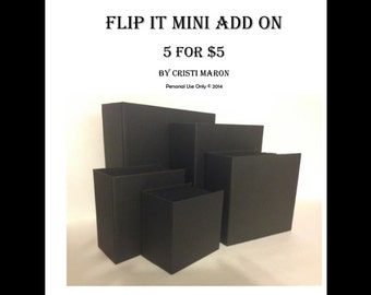 5 for 5 Add on Sizes for the Flip-it Mini Album