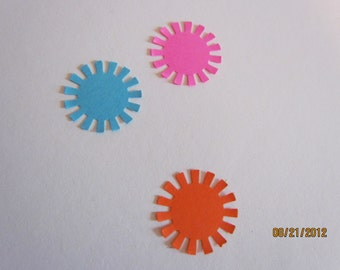 little bursts die cuts