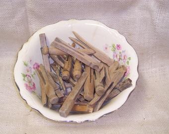 Wood Clothes Pins