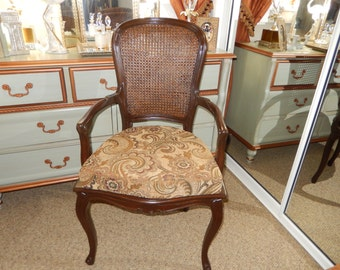 FRENCH CANED CHAIR
