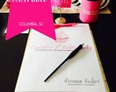 MAY Cupcakes and Calligraphy Class Enrollment : Columbia, SC