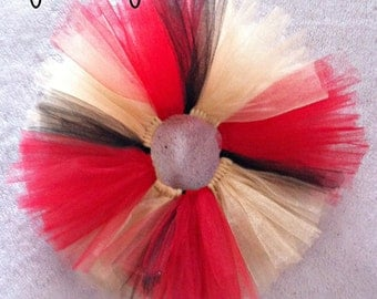 Red, Gold and Black Baby Girl Red and Gold Tutu