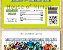 Skylanders Hershey Wrapper - Digital File