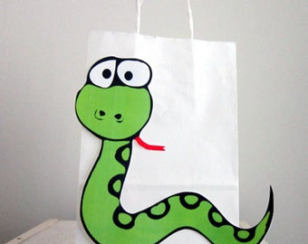 Snake Party Favor, Goody, Gift Bags