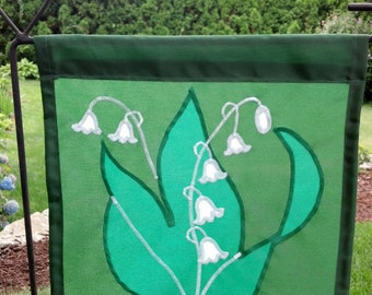 Lily of the Valley - Garden Flag