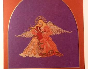 Renaissance Angel  by Rebecca Waldrop/MarBek cross-stitch chart
