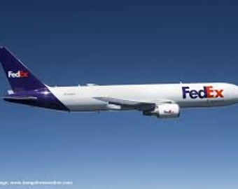ExPRESS SHIPPING VIA Fedex