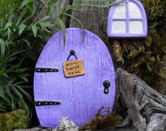 Fairy Door,Medium Fairy Garden Kit,Fairy Door Kit,Fairy Gardens,Outdoor Fairy Gardens,Mothers Day,Gardening Gift,Fantasy Decor,Stone