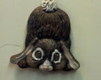Rabbit refrigerator magnet