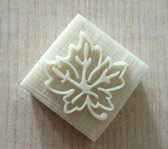 Beautiful Leaf Soap Soap Stamp Soap Mold Seal Resin DIY