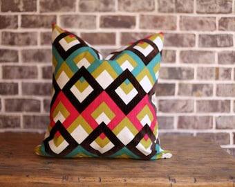 Designer Geometric Pillow