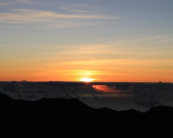 Nature Photography - Sunrise in Haleakala, Maui. Print available in various size