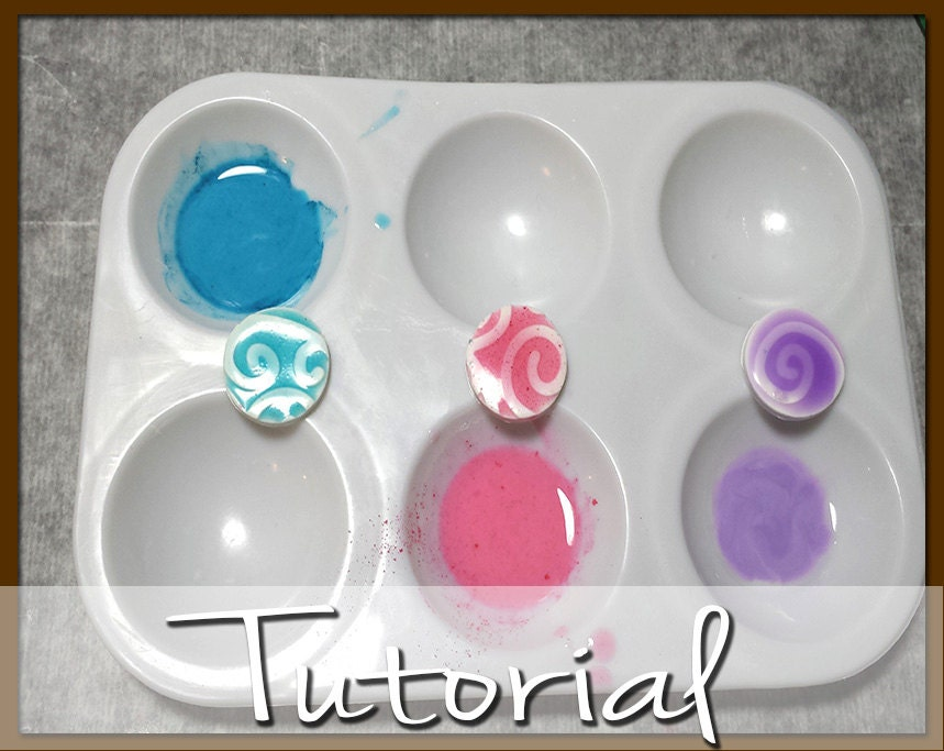 Polymer clay tutorial how to tint and color liquid polymer for Clay mural tutorial