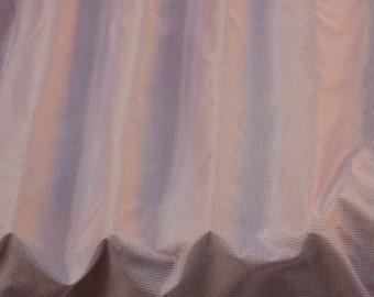 "Pink/White Tissue Taffeta Checks 100% Silk Fabric 54"" Wide, By The Yard (SD-711BB)"