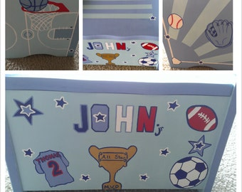 Personalized Storage Box
