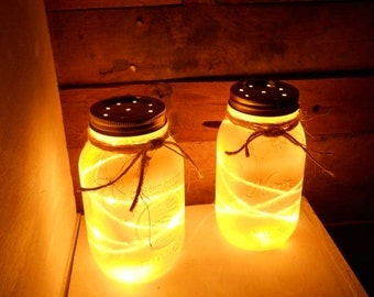 Canning Jar Accent Lights