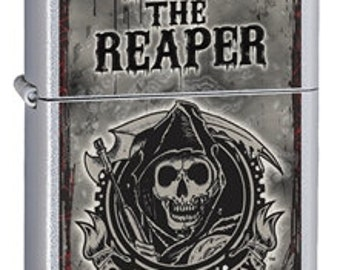 Engraved Sons of Anarchy Zippo Lighter  - Personalized Zippo - Gifts for Him - Groomsmen Gifts - ZP2850SonofAnarchy