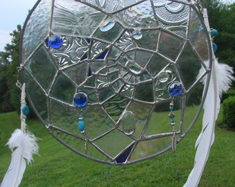 Stained Glass Dreamcatcher Panel
