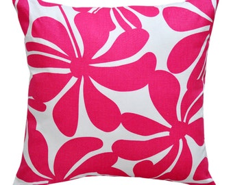 Twirly Candy Pink Cushion Cover. Pillow Cover.