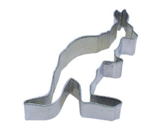"4"" Kangaroo Cookie Cutter zoo Australia birthday party treats 1231"