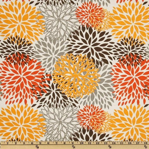 Items similar to modern upholstery fabric by premier for Modern home decor fabric prints