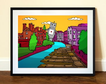 Cambridge Art Print - A3 Limited Edition