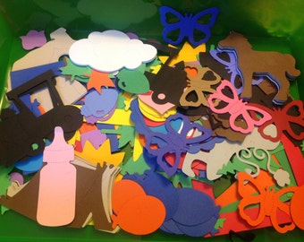 SALE 1,000 Assorted die cuts and punches.
