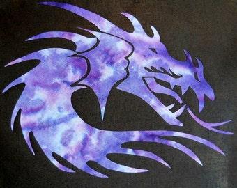 Easy Dragonhead Quilt Applique Pattern Design